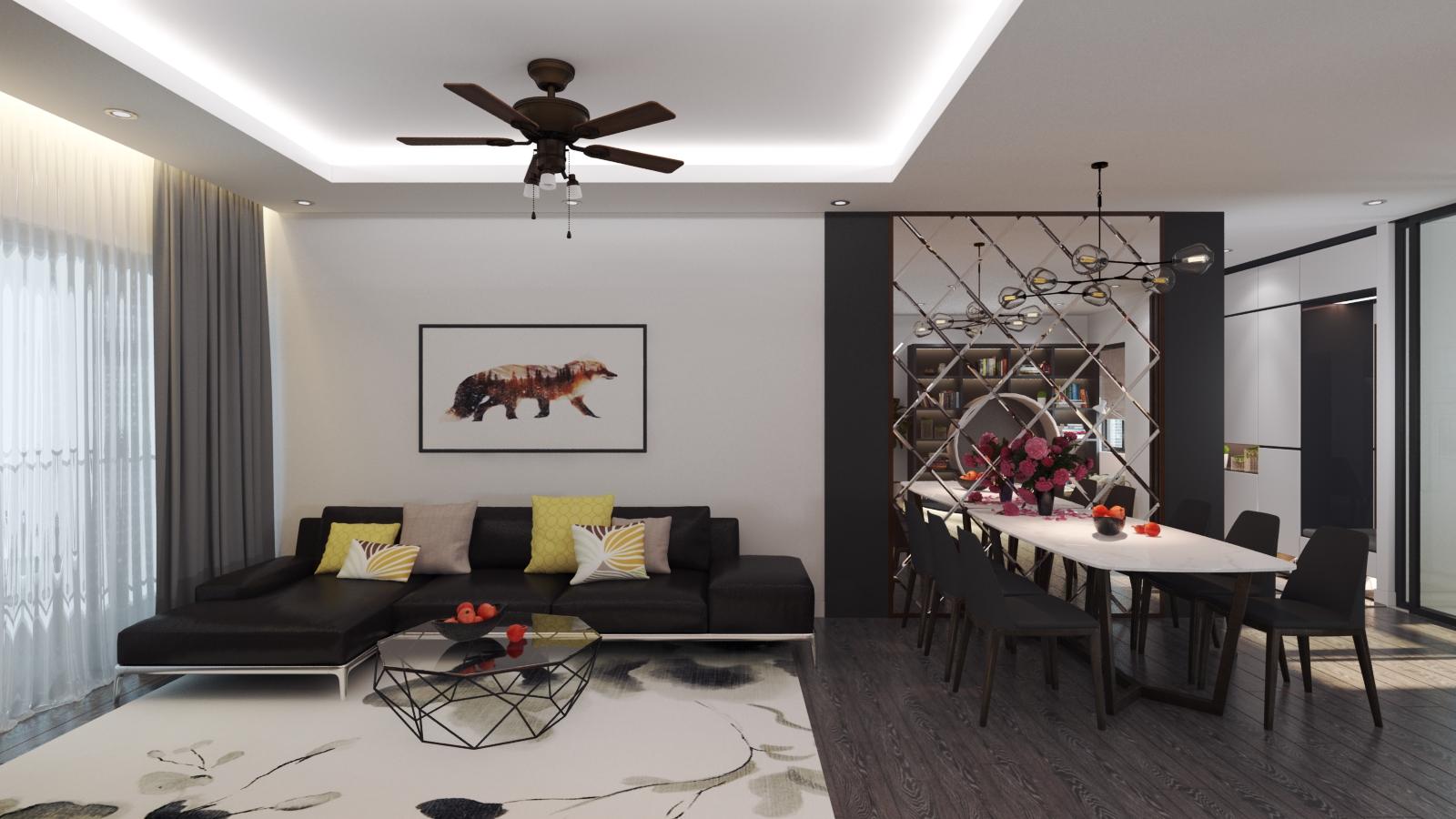 Kết quả hình ảnh cho thiết kế nội thất phong cách tối giản