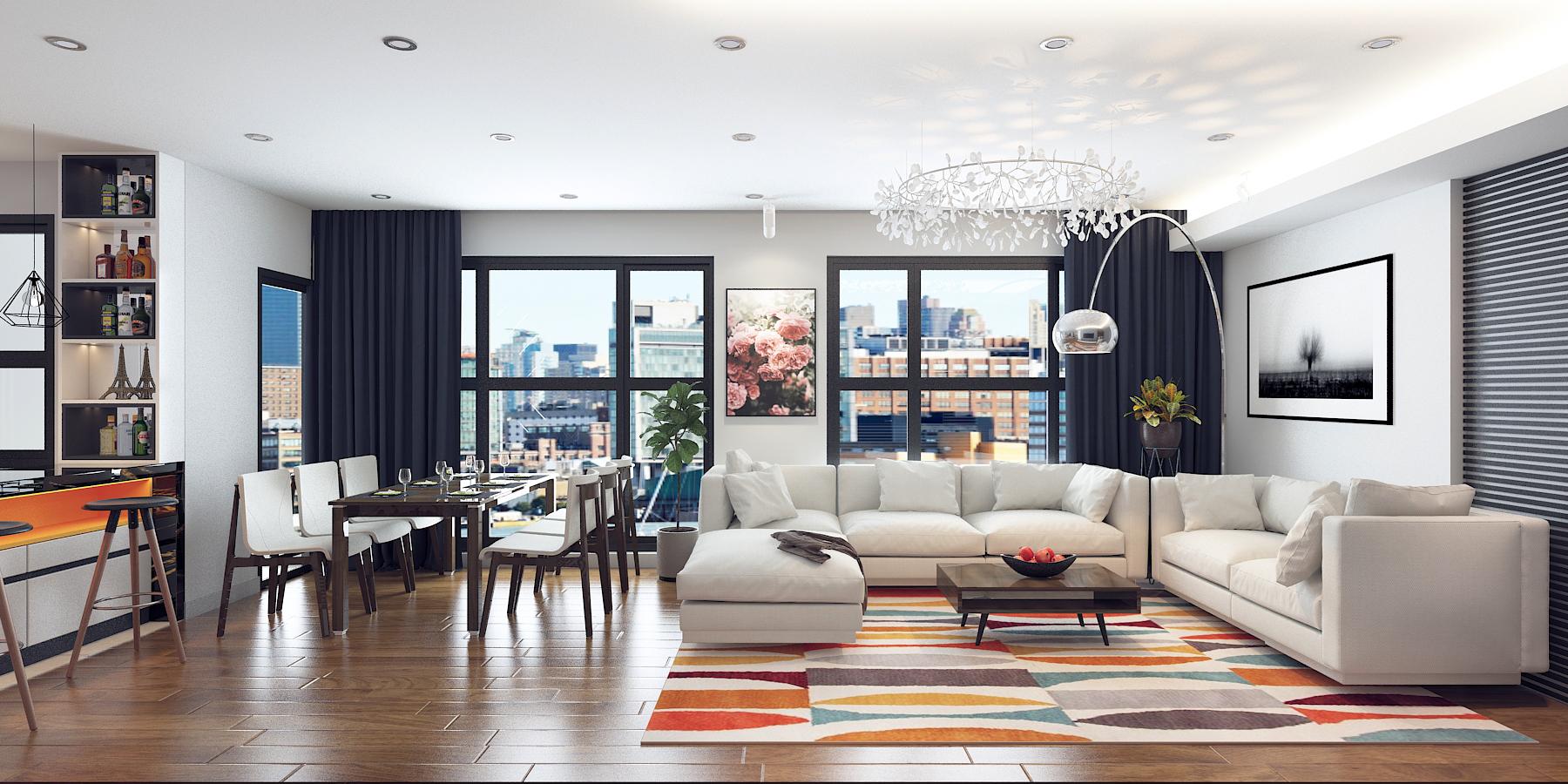 Hiệu ứng ánh sáng trong thiết kế nội thất hiện đại - Công ty Thiết ...
